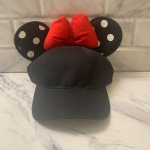 Disney Minnie Mouse Ears SnapBack Woman's Hat